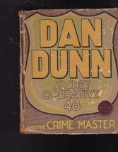 Dan Dunn Secret Operative 48 and the Crime Master Big Little Book BLB - $14.00