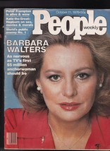 People Magazine Barbara Walters Peter Frampton Katharine Hepburn October... - $14.00
