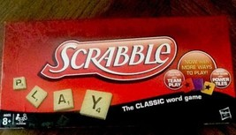 Scrabble Board Game 2012 Hasbro Word Game Complete - $17.82