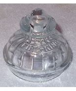 Vintage Fire King Embossed Glass Percolator Top - $8.95
