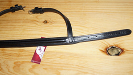 Bobby's FULL Sz Elegant Black/Brass Hdwe Padded... - $55.50