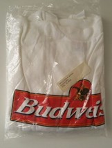 Budweiser King Of Beers Logo White Promotional T-Shirt Size XL - $6.89