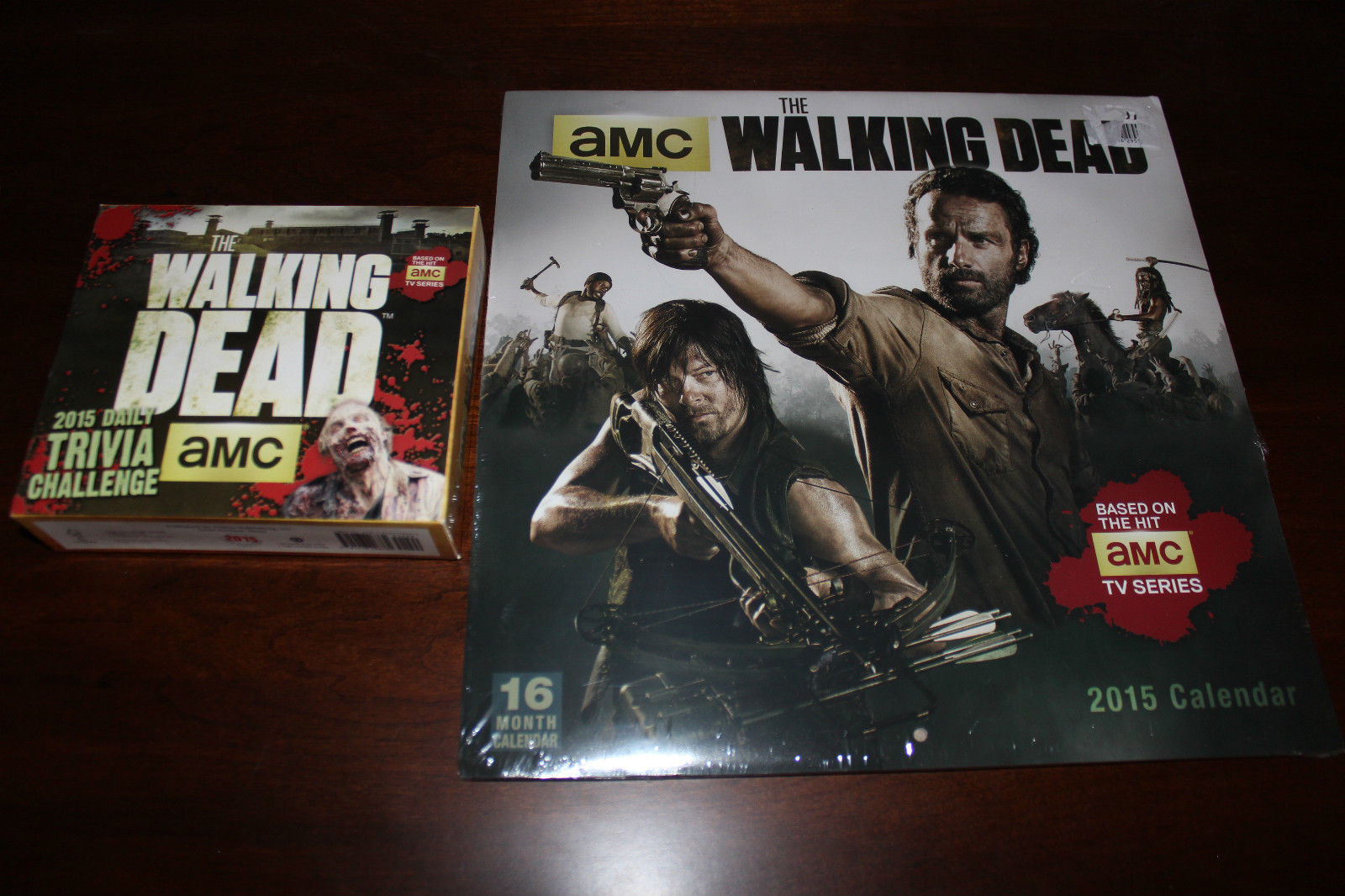 The Walking Dead 2015 Wall Calendar Bundle