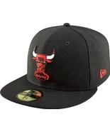 New Era 59Fifty Hardwood Classics NBA Chicago Bulls Black Fitted Cap  - $34.99