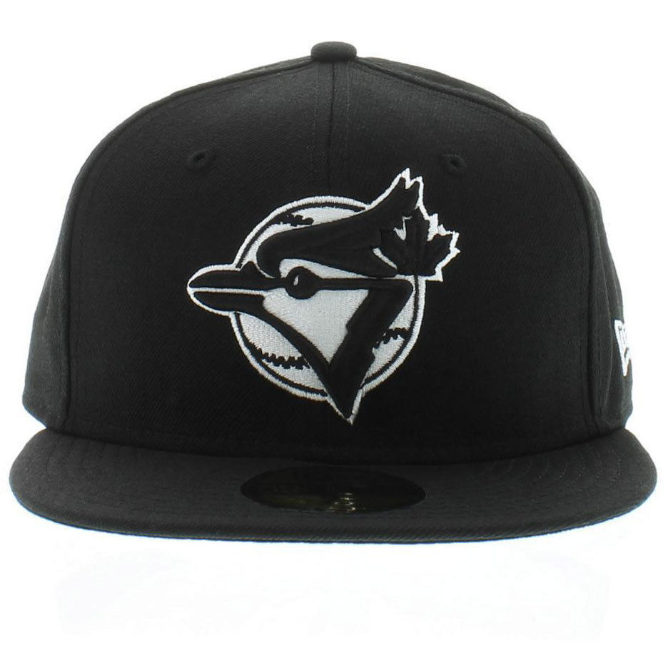 the best attitude 96cc5 e2ded S l1600. S l1600. Previous. New Era 59Fifty MLB Toronto Blue Jays Black and White  Fitted Cap