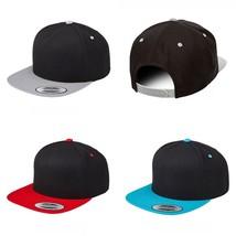 Yupoong Flexfit Premium 5 Panel Snapback 2-Tone 5089M  - $14.99