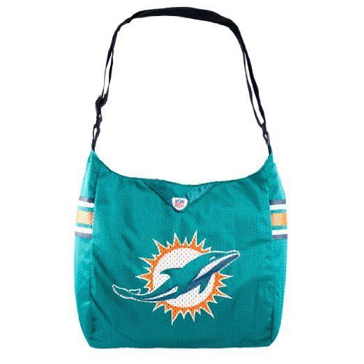 Little Earth NFL Miami Dolphins Jersey Tote Bag 9209