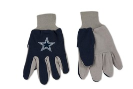 Wincraft NFL Dallas Cowboys Two Tone Utility Gloves 6357 - $12.19