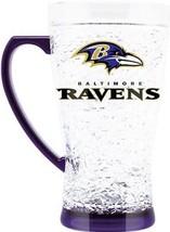 Duck House Sports NFL Baltimore Ravens Crystal Flared Mug 5343 - $15.79