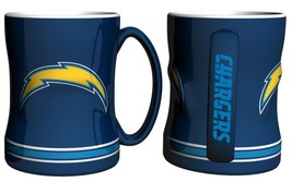 NFL San Diego Chargers 15 Ounce Sculpted Logo Relief Coffee Mug - $17.59