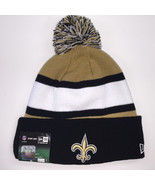 New Era New Orleans Saints NFL 2013 Sport Knit Beanie 9755 - $23.36