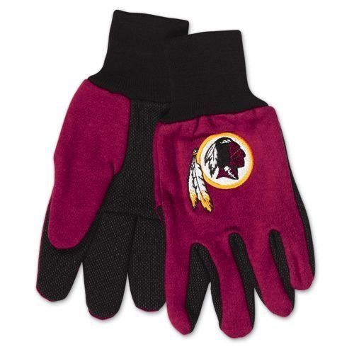 Wincraft NFL Washington Redskins Two Tone Utility Gloves 6354
