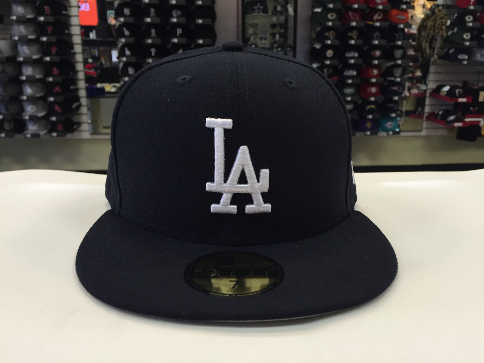 New Era 59Fifty MLB Los Angeles Dodgers Navy/White Fitted Cap