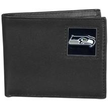 Nfl Bifold Wallet In A Window Box - Seattle Seahawks  - $36.35