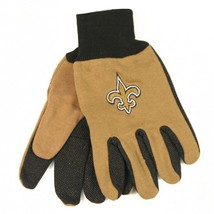 Wincraft NFL New Orleans Saints Two Tone Utility Gloves 6337 - $12.19