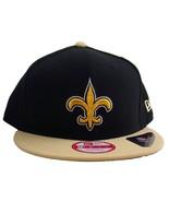 New Era 9FIFTY NFL New Orleans Saints Bind Back Snapback Cap Hat 13197 - $29.91