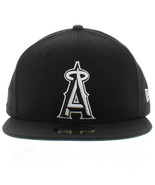 New Era 59Fifty MLB Los Angeles Angels Black and White Fitted Cap  - $34.99