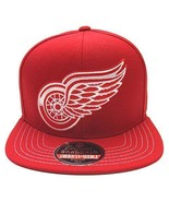American Needle NHL Detroit Red Wings Mammoth Snapback Cap Hat 12846 - $28.04