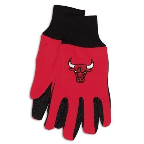 Wincraft NBA Chicago Bulls Two Tone Utility Gloves