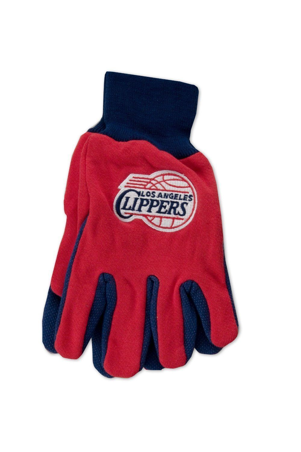 Wincraft NBA Los Angeles Clippers Two Tone Utility Gloves 9808