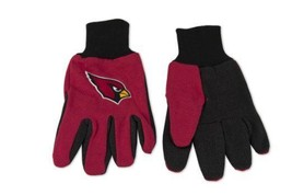 Wincraft NFL Arizona Cardinals Two Tone Utility Gloves 6339 - $12.19