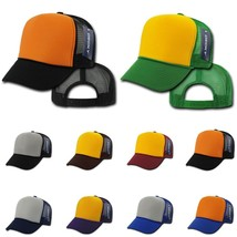 DECKY 6-Panel Two Tone  Industrial Mesh  Form Crown Snapback Cap Caps Hat 212 - $4.99