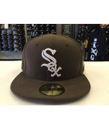 New Era 59Fifty MLB Basic Chicago White Sox Walnut 5950 Baseball Fitted ... - $34.99