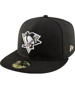 New Era 59Fifty NHL Pittsburgh Penguins Black Fitted Cap  - $34.99