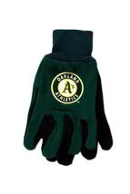 Wincraft MLB Oakland Athletics Two Tone Utility Gloves 6361 - $12.19