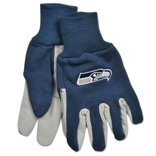 Wincraft NFL Seattle Seahawks Two Tone Utility Gloves 9804
