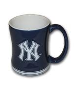 MLB  New York Yankees 15 Ounce Sculpted Logo Relief Coffee Mug - $17.59