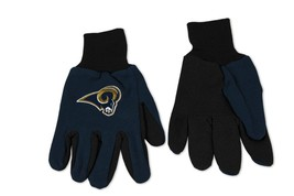 Wincraft NFL St. Louis Rams Two Tone Utility Gloves 6336 - $12.19