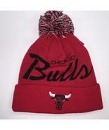 Mitchell & Ness NBA Chicago Bulls Crack Pattern Pom Knit Beanie 10570 - $18.59