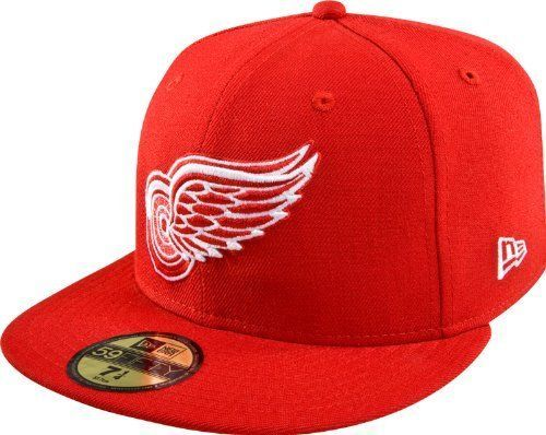 New Era 59Fifty MLB Detroit Red Wings Red Fitted Cap