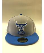 New Era 59Fifty NBA Chicago Bulls Neutral Pop Basic Gray & Blue Fitted Cap  - $34.99