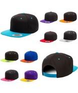 Yupoong Flexfit 6089MT Classic 2 Tone Snapback Baseball Blank Plain Hat Cap - $14.99