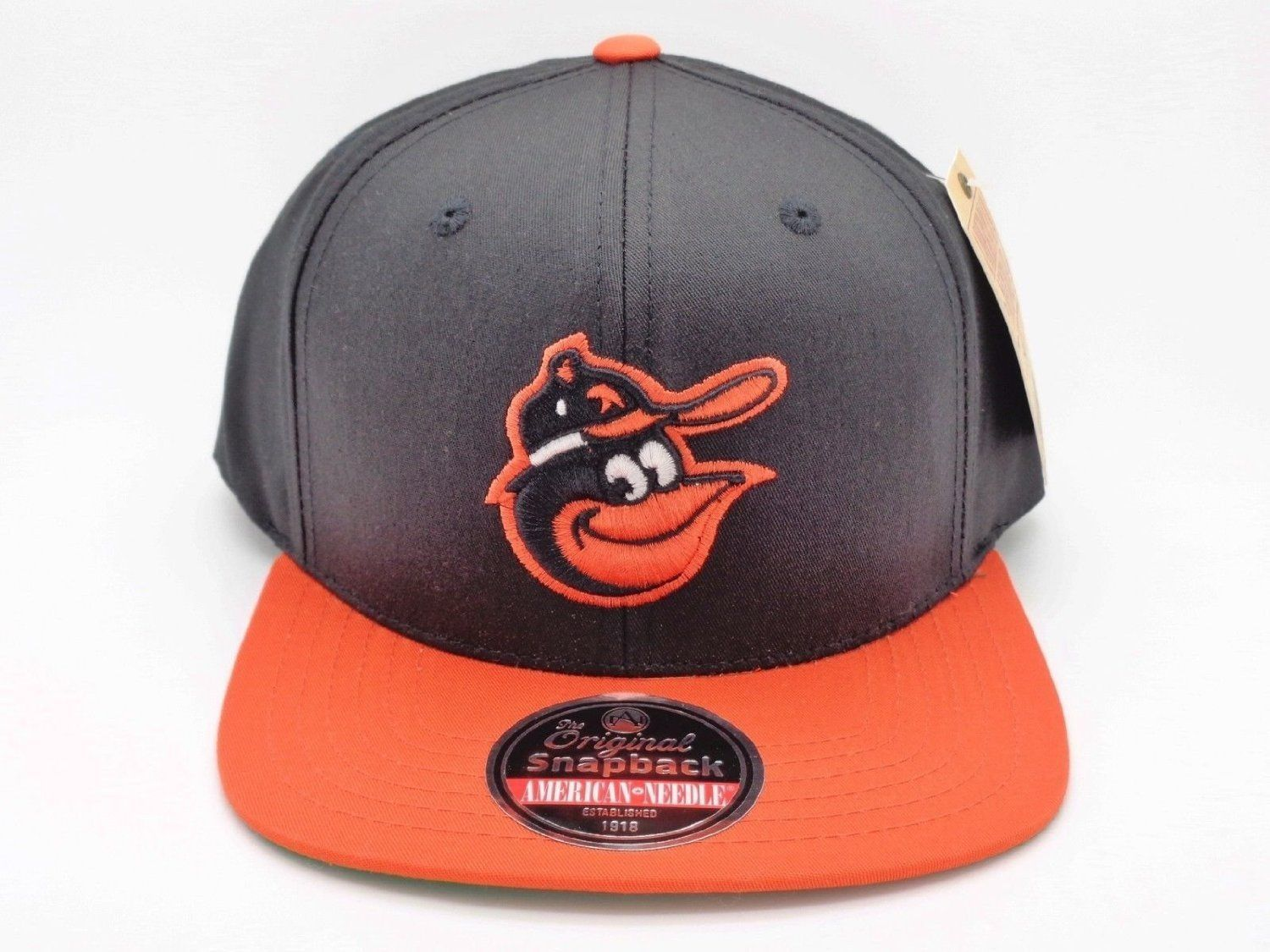 American Needle MLB Baltimore Orioles Outfield Snapback Cap OSFA #12561