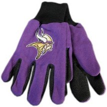 Wincraft NFL Minnesota Vikings Two Tone Utility Gloves 9809 - $12.19