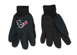 Wincraft NFL Houston Texans Two Tone Utility Gloves 6343 - $12.19