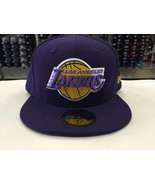 New Era 59Fifty Los Angeles Lakers Hardwood Classics Purple Fitted Cap  - $34.99