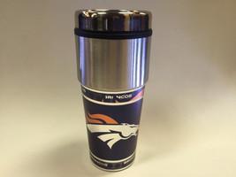 NFL Denver Broncos 360 Wrap Travel Tumbler Coffee Mug 13255 - $25.03