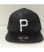 American Needle MLB Pittsburgh Pirates Quilted Black Strapback Cap Hat 1... - $28.04