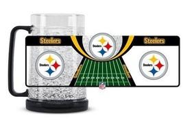 Duck House Sports NFL Pittsburgh Steelers Crystal Freezer Mug 5348 - $16.69