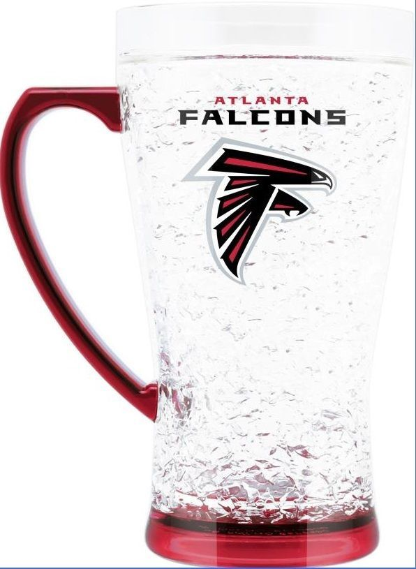 Duck House Sports NFL Atlanta Falcons Crystal Flared Mug 5331