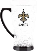 Duck House Sports NFL New Orleans Saints Crystal Flared Mug 5329 - $16.69