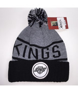 Mitchell & Ness NHL Los Angeles Kings High 5 Cuffed Knit Beanie 11757 - $18.59