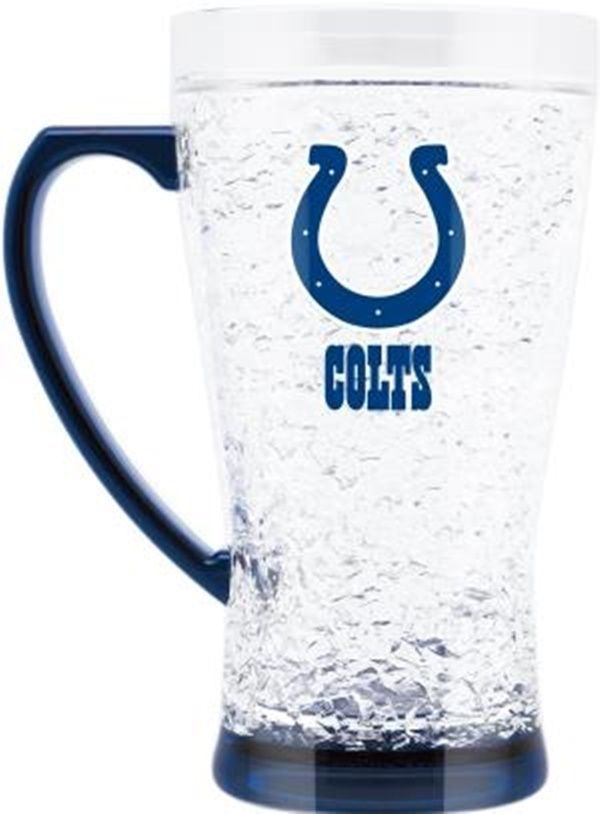 Duck House Sports NFL Indiannapolis Colts Crystal Flared Mug 5332