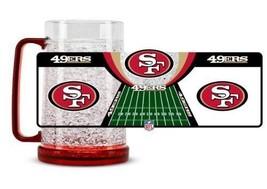 Duck House Sports NFL San Francisco 49ers Crystal Freezer Mug 5350 - $16.69