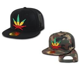 DECKY Weed Flat Bill Snapback 6-panel Cap Hat N28 - $16.99