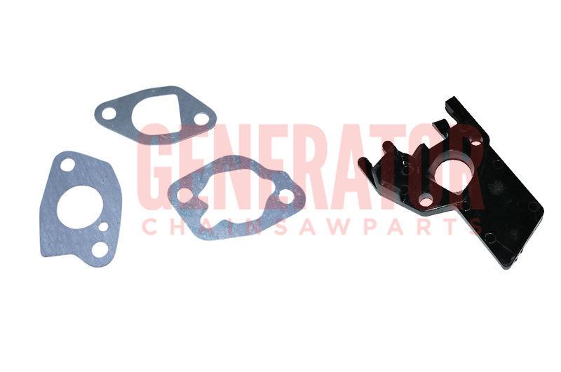 Carburetor Insulator Gasket Parts For Honda EB2200X EG2200X EM2200X Generators